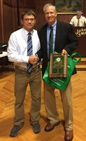Charles Rice Receives the Tommy and Susan Futral Inspiration of the Invitational Award