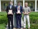 1st Ben Gasser-AL; 2nd Greg Gasser-AL; 3rd Scott Michels-IL