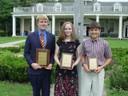 1st Samuel Cordner-AL; 2nd Anna Vines-AL; 3rd Kevin Macher-GA