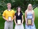 1st Elizabeth Shiley-IL; 2nd Meghan Mullins-VA; 3rd Zach Beever-IL